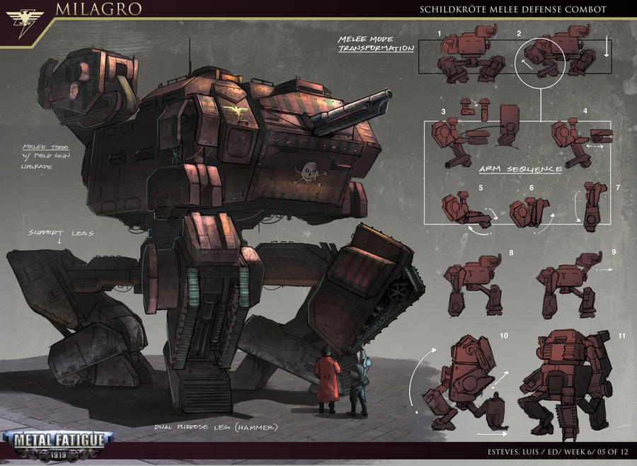 Dieselpunk Soldier Milagro Diesel Punk by