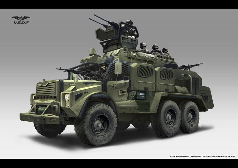 Vehicle Design by EstevesLuis