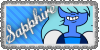 Sapphire Stamp by Imperfectionality