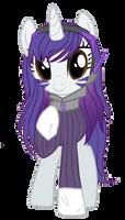 Rarity D.Va: My Little Pony/Overwatch by Bolties