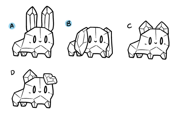 crystal pet: ear traits by Bolties on DeviantArt