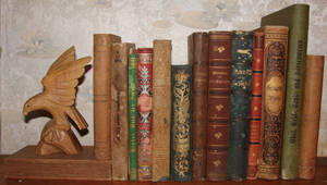 Old Books Stock