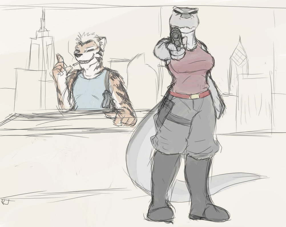 Sketchuary 02-12-2013 by Drake-TigerClaw