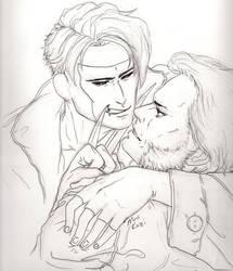 Gambit and Wolverine by MuusKazi
