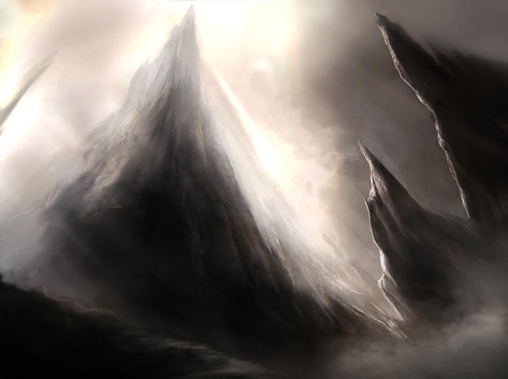 Mountain by Ketunleipaa