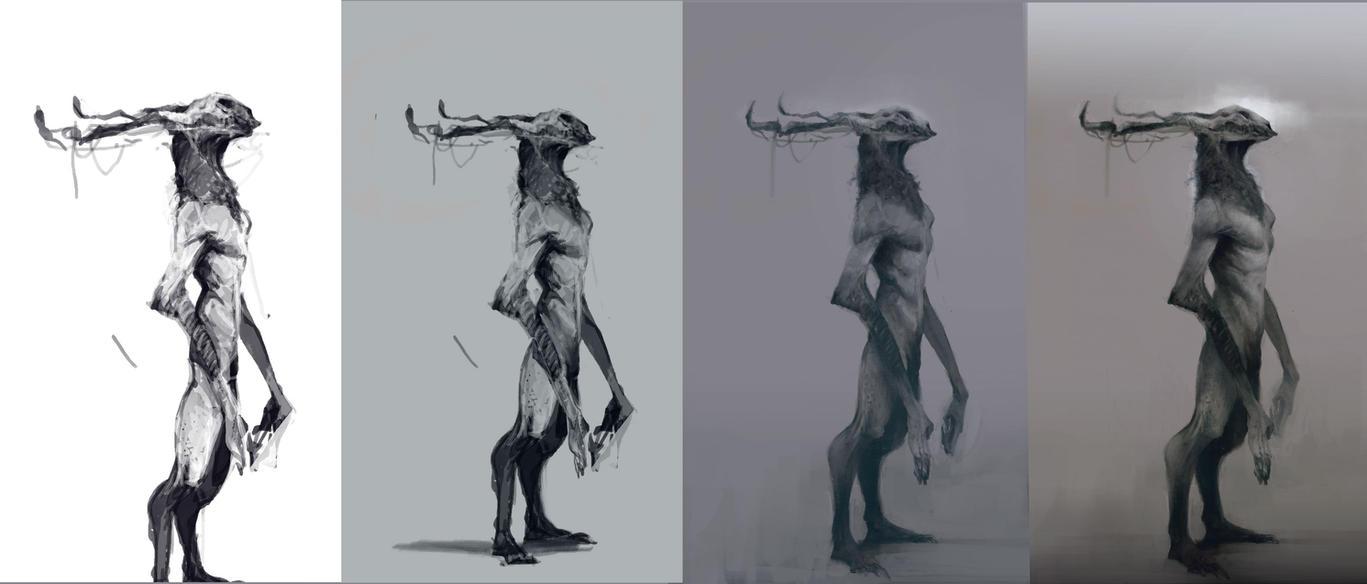 Horns-process by Ketunleipaa