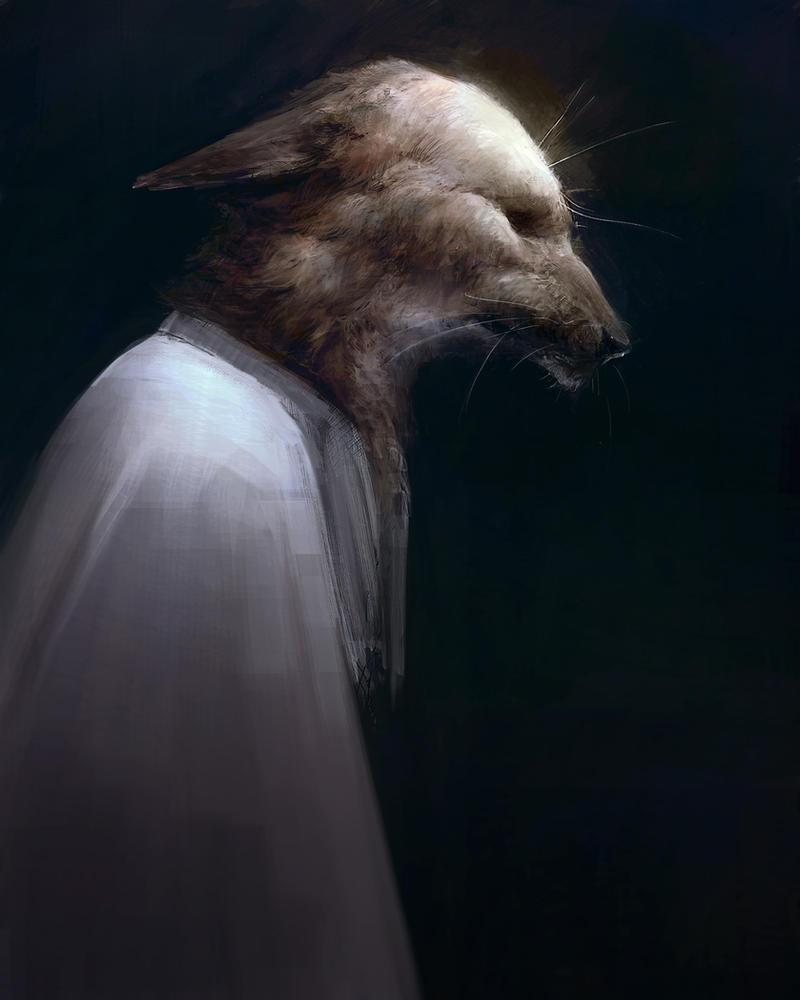 Gloomy fox by Ketunleipaa