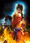 Gypsy Fire Dancing by LuLebel