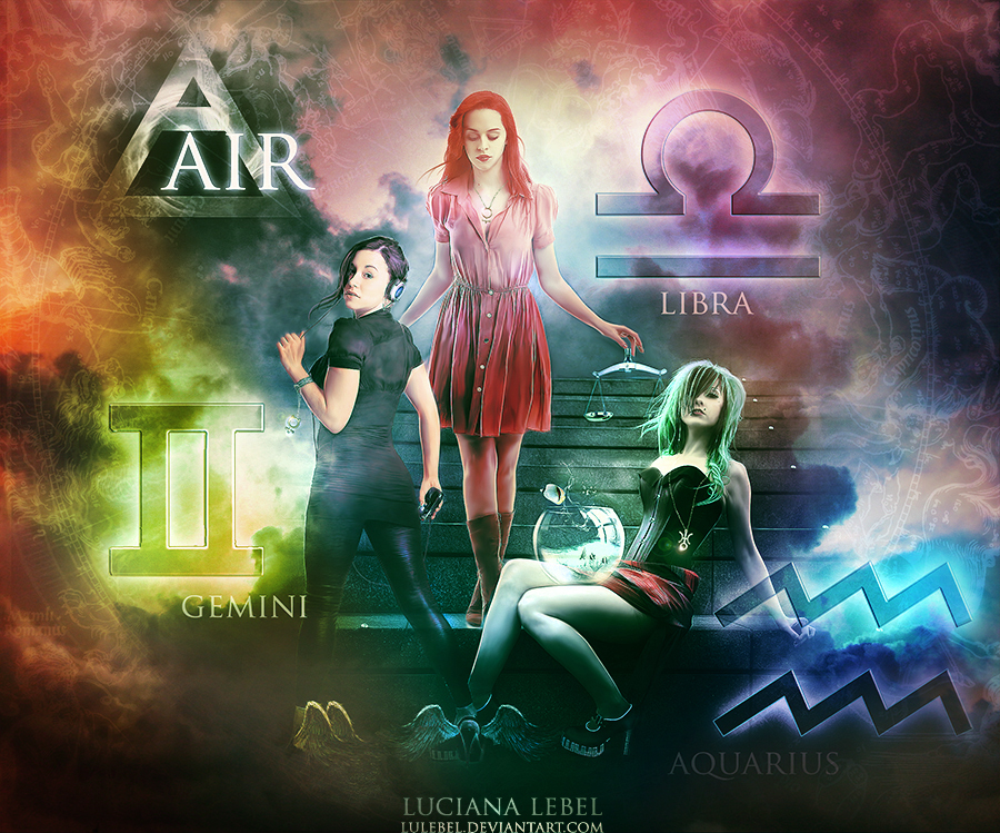 The AIR - Astrology by LuLebel