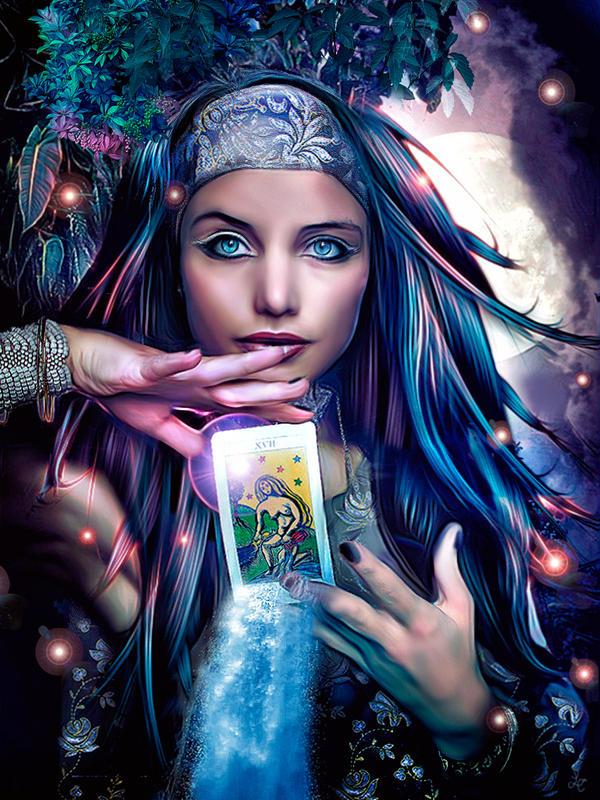 fortune teller by lulebel on deviantart