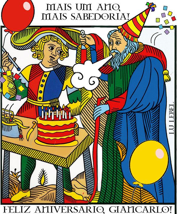 tarot happy birthday by lulebel on deviantart, Birthday card