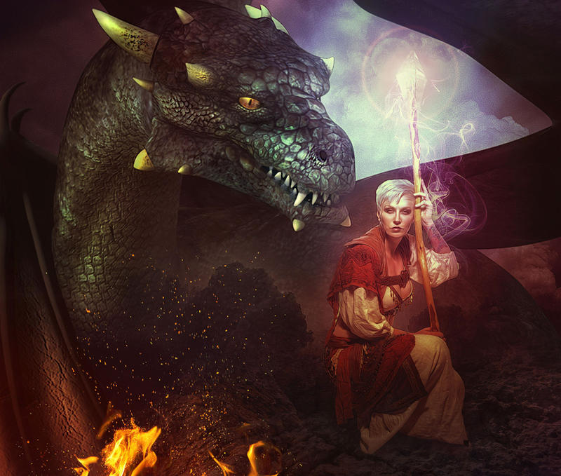 Sorceress by LuLebel