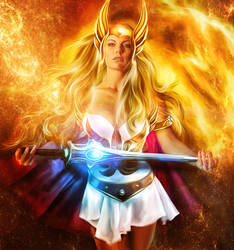 SHE-RA by LuLebel