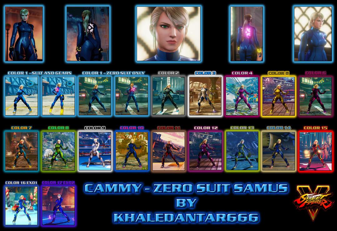 CAMMY - ZERO SUIT SAMUS (PUBLIC RELEASE) by Khaledantar666