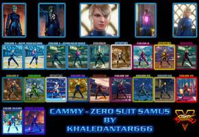 CAMMY - ZERO SUIT SAMUS by Khaledantar666