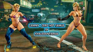 CAMMY - ZERO HOT SAMUS by Khaledantar666