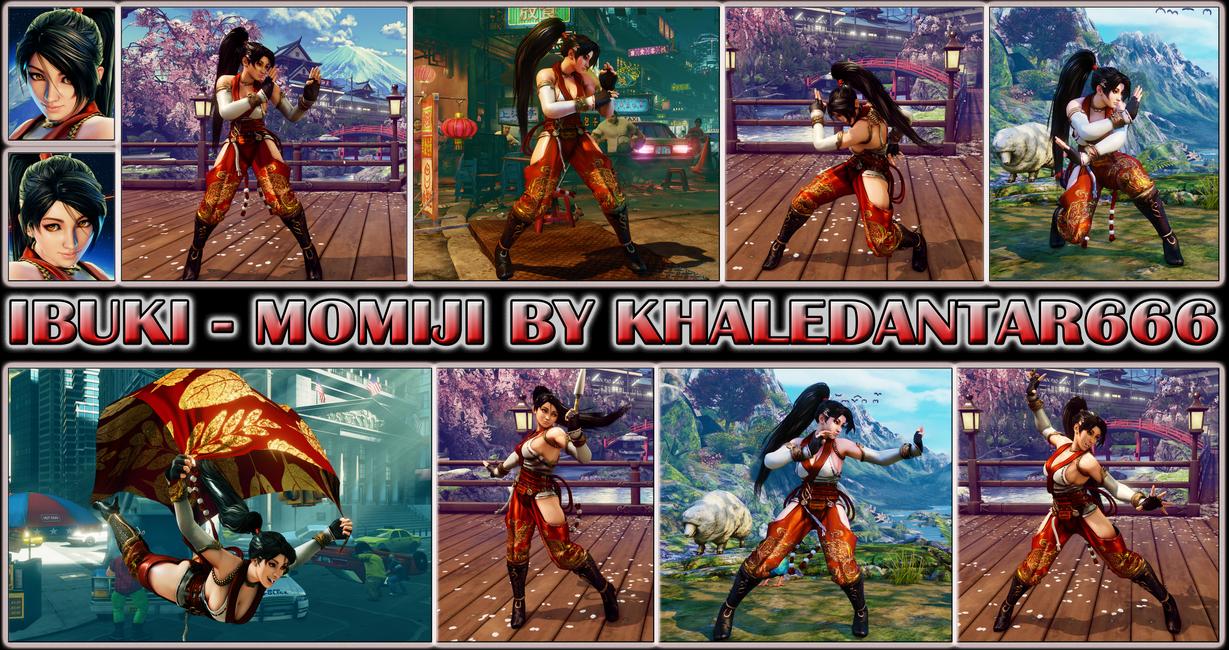 IBUKI - MOMIJI by Khaledantar666