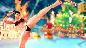HAPPY HOLIDAYS CHUN-LI !