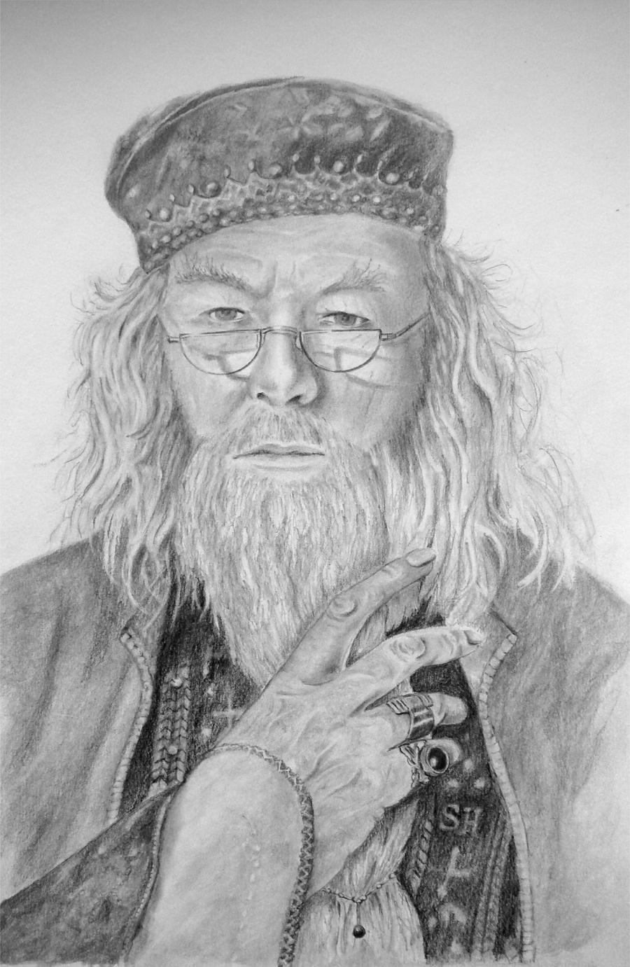How To Draw Dumbledore
