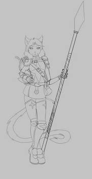 Okhi Dohki - Spear and Bow