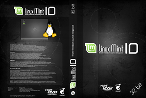 Linux mint pochette Dvd by JoeyRex