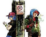[805km] NO SMOKING AREA