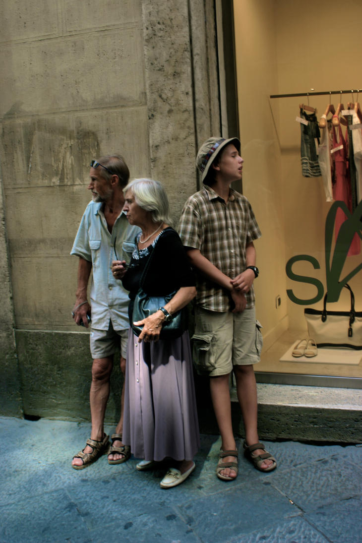 Three Little Tourists by AnilaStar