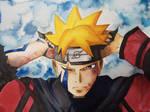 Uzumaki Boruto | Speedpaint | Watercolor
