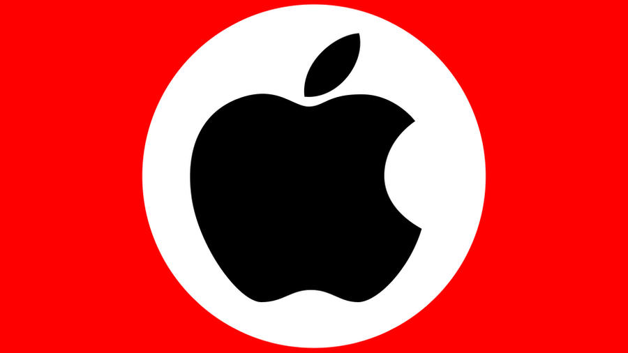 Apple Nazi By Anteddd On Deviantart