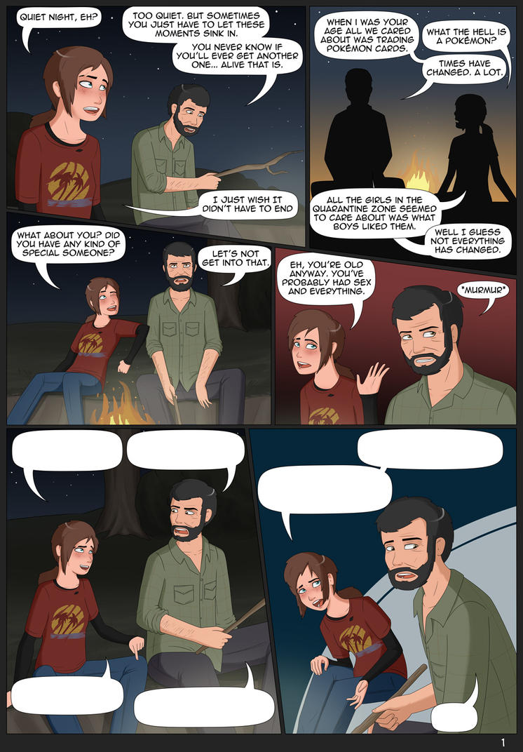 Ellie Unchained #1 - Page 1 by Freakorama1 on DeviantArt