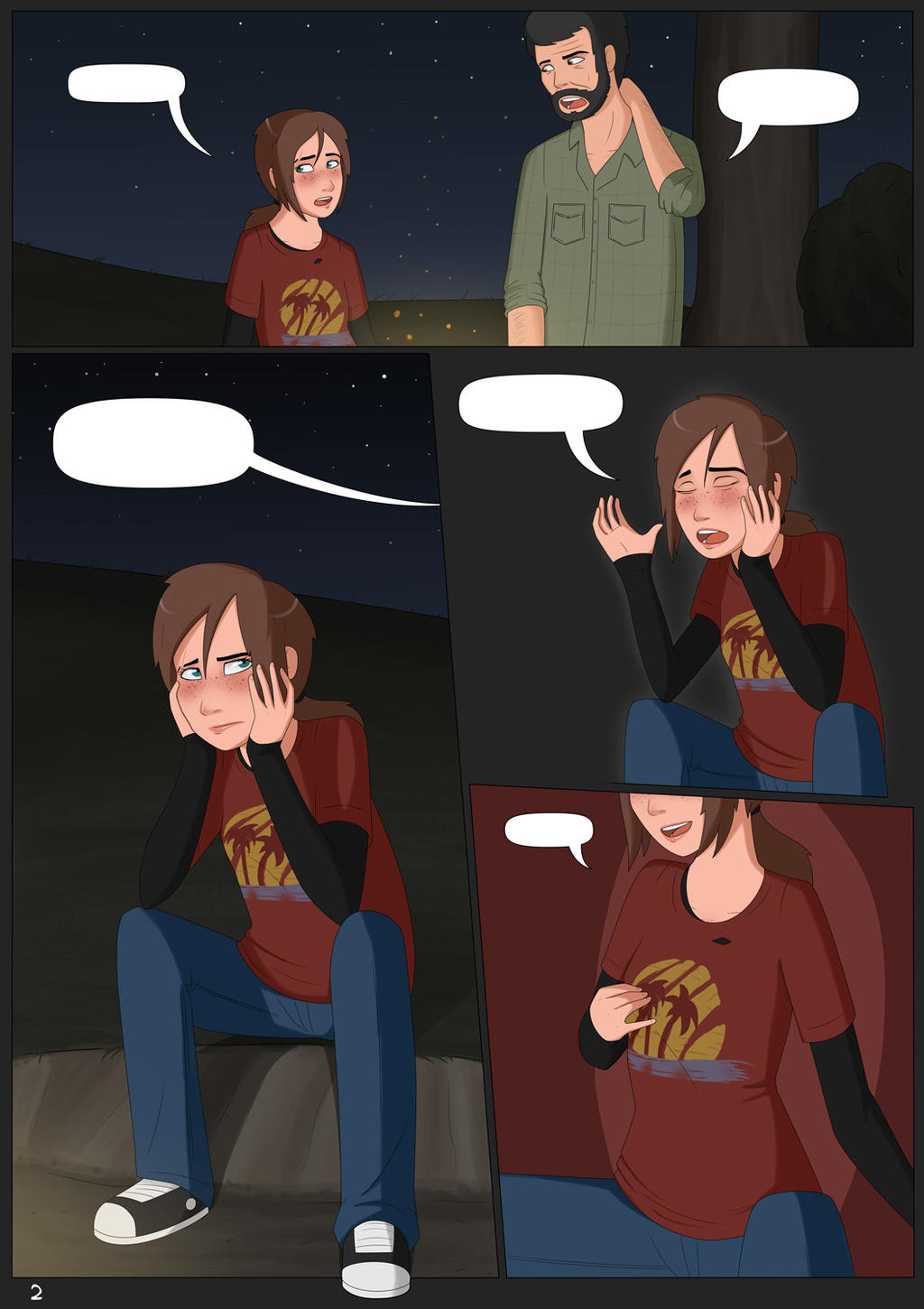 Ellie Unchained #1 - Page 2 by Freakorama1 on DeviantArt