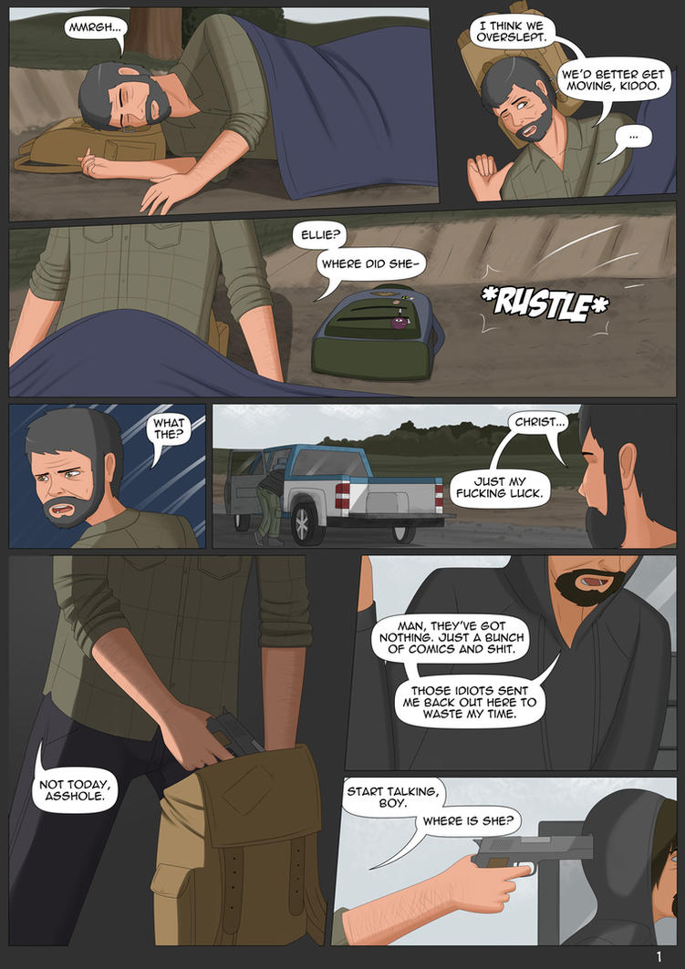 Ellie Unchained #2 - Page 1 by Freakorama1 on DeviantArt