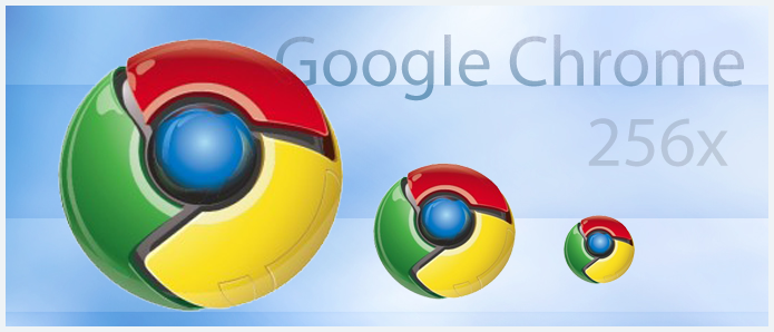 SRV.CC Google Chrome Icons PNG by Alex88M