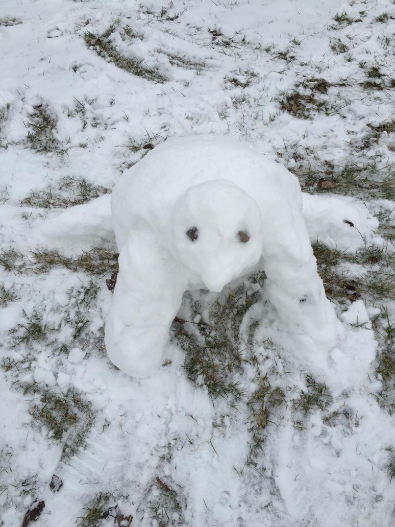 snow turtle 2.0 by Uponbatishwings