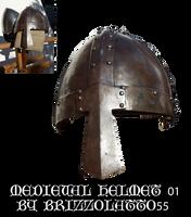 Medieval helmet 01 by Brizzolatto55