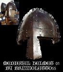 Medieval helmet 01
