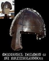 Medieval helmet 02 by Brizzolatto55