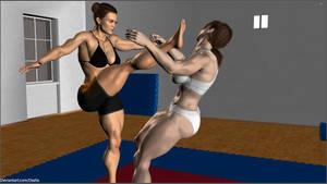 Allison vs Madison  7 by Dezlia