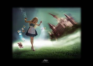 Alice in Wonderland by deviappareil