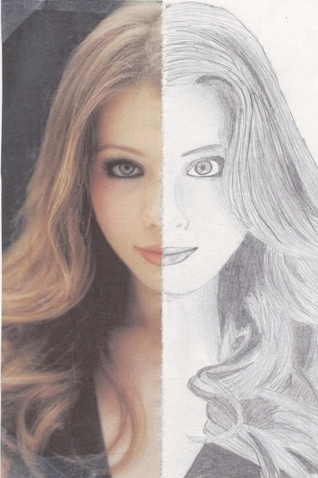 Michelle Trachtenberg - Sketchbook Assignment by Julianna2019