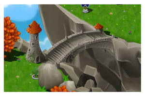 Dragonvale Towered Island Bridge