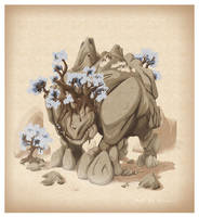 Crag: oddball Realms creature