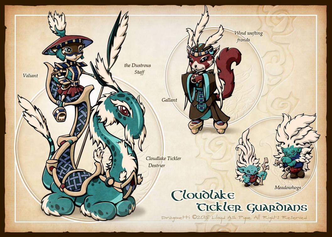 Cloudlake Tickler Guardians