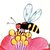 Icon - Bees and Flowers by fmr1