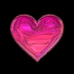 Heart - Vivid Pink