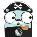 Large Icon - Funny pirate - 400x400 pixels