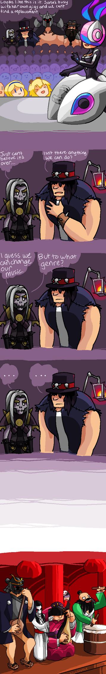 LoL Pentakill Comic (1/3) by BlueBlythe