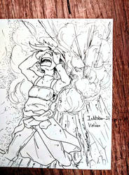 TheFrenchInktober - Volcan by Amnaysia-EC