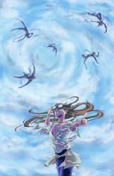 Haut dans le ciel by Amnaysia-EC