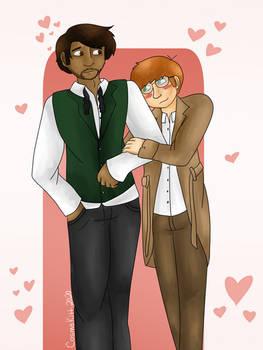 Charles and Daren
